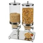 TOM-GAST Classic Duo dispenser for breakfast cereals 2x8L