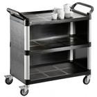 Saro Wózek kelnerski 3-półkowy z tworzywa | 1020x500x(H)960mm
