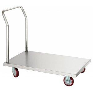 Bartscher Wózek platformowy 560 x 940 mm   560x1050x(H)925mm