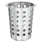 Bartscher Cutlery cup | nickel-chromium steel | Wed. 110mm | 110x110x (H) 145mm
