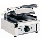 Bartscher Contact grill Electric - Grooved top, Smooth bottom 1800W