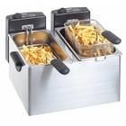 Bartscher Fryer Elektrisch verstellbare 2x 4L | 2x 2200W