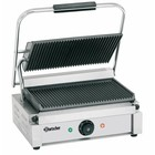 Bartscher Electric contact grill - grooved plates 2200W | 410x400x (H) 200mm