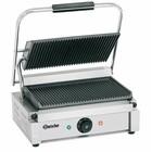 Bartscher Elektrische contact grill - Geribbelde platen | 2200W | 410x400x (H) 200mm