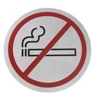 Hendi Tabliczka informacyjna samoprzylepna   zakaz palenia   śr.160mm