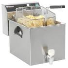 Hendi Fryer Mastercook de aftapkraan en de koude zone | 8L | 3500W | 230