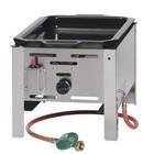 Hendi Pan Gas bakken meester mini | 290x480mm | 5,8kW | 340x540x (H) 300 mm