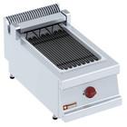 Diamond Elektrische grill stoom 270x450mm nastolny | 4kW | 400x700x (H) 330mm