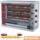 Diamond Broodrooster witoceramiczny kip 3x 5 | 7,5 kW | 1200x500x (H) 885 mm