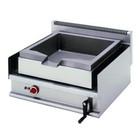 Diamond Elektrische koekenpan | staal | capaciteit. 30L | 490x440x (H) 140mm