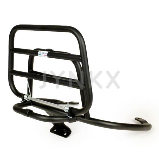 Achterdrager Vespa Primavera / Sprint originele kwaliteit mat zwart (FA Italia)