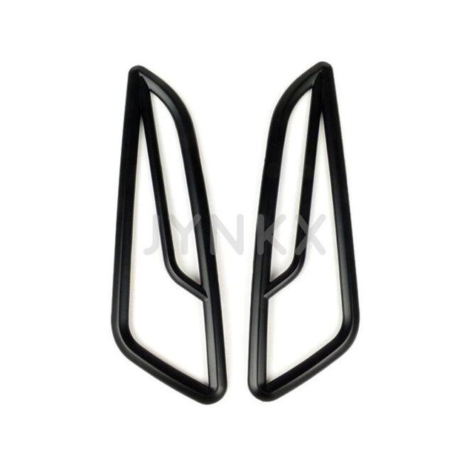Knipperlicht rooster set Vespa Primavera / Sprint mat zwart voor