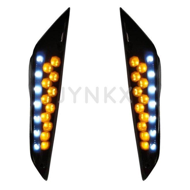 Knipperlicht set Piaggio zip led voorkant