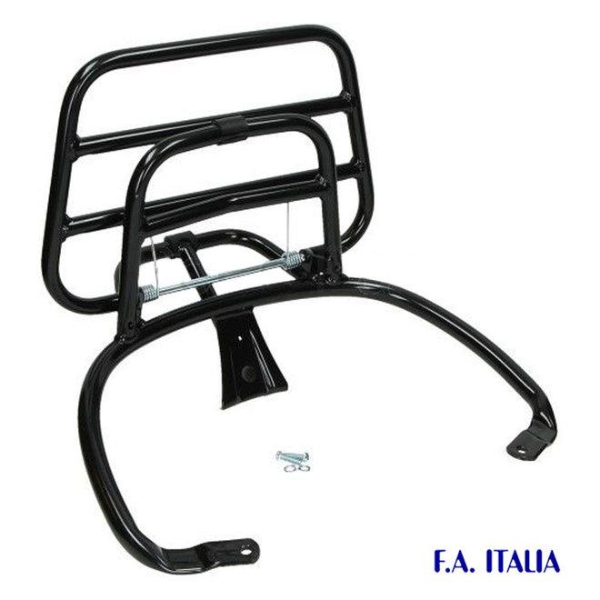 Achterdrager Vespa Primavera / Sprint glans zwart (FA Italia)
