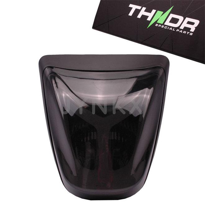 Achterlicht LED tube THNDR Vespa Primavera / Sprint glans zwart