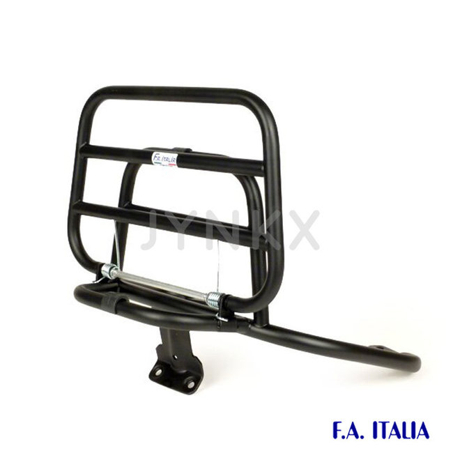 Achterdrager Vespa lx / S mat zwart (FA-Italia)