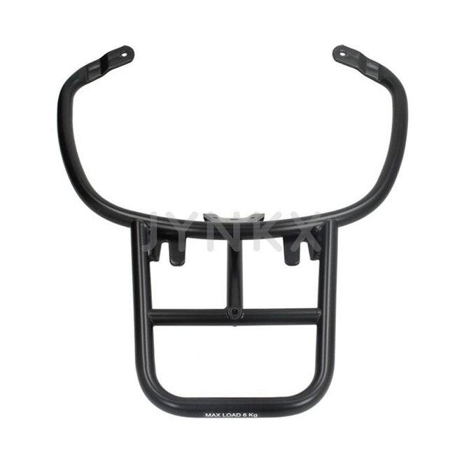 Achterdrager topkoffer Vespa Primavera / Sprint zwart origineel