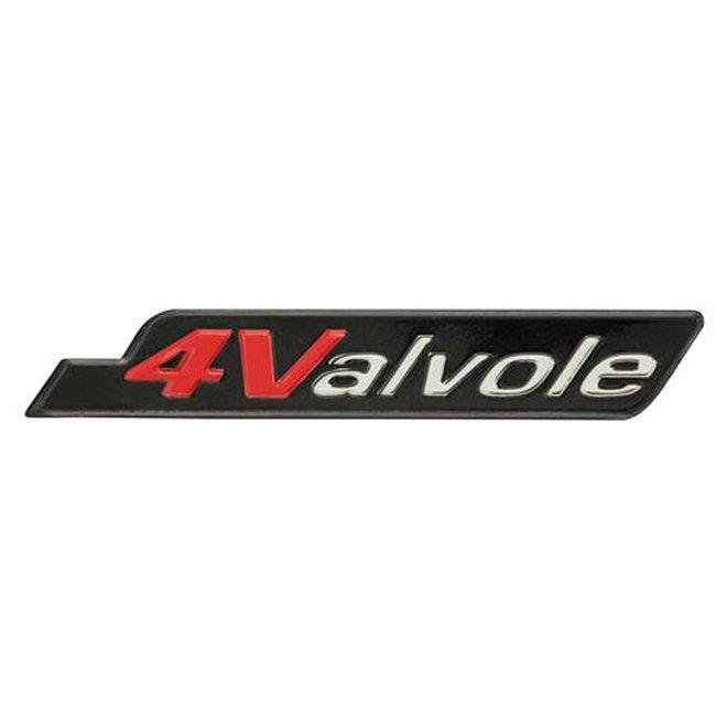 Embleem Vespa S (4 Valvole) zijscherm chroom origineel