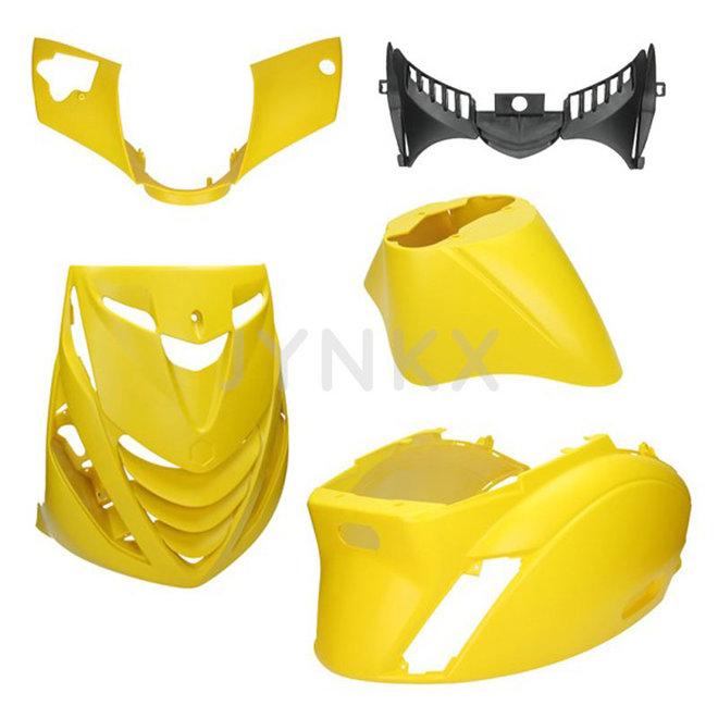 Kappenset Piaggio zip mat geel 5-delig (SP look)