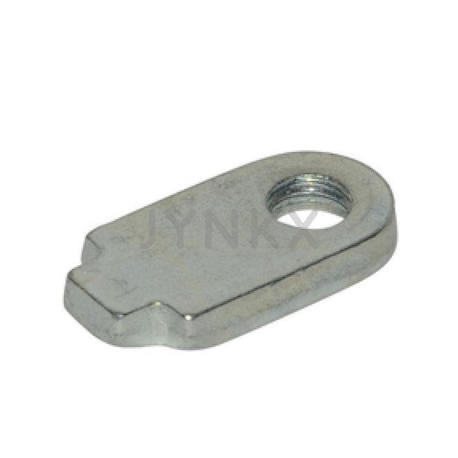 Blokkeerplaat achterremkabel 23x11mm Piaggio / Vespa origineel