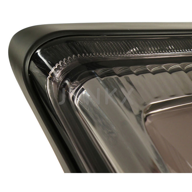 Achterlicht Vespa GTS LED tube smoke '2019- (mat zwart frame)