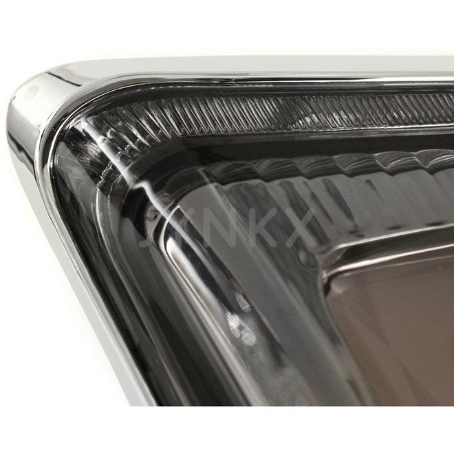 Achterlicht Vespa GTS LED tube smoke '2019- (chrome frame)
