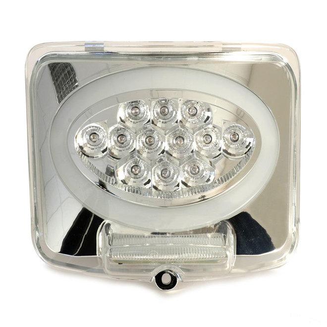 Achterlicht Vespa GTS LED tube wit ovaal (2014-2018, facelift)