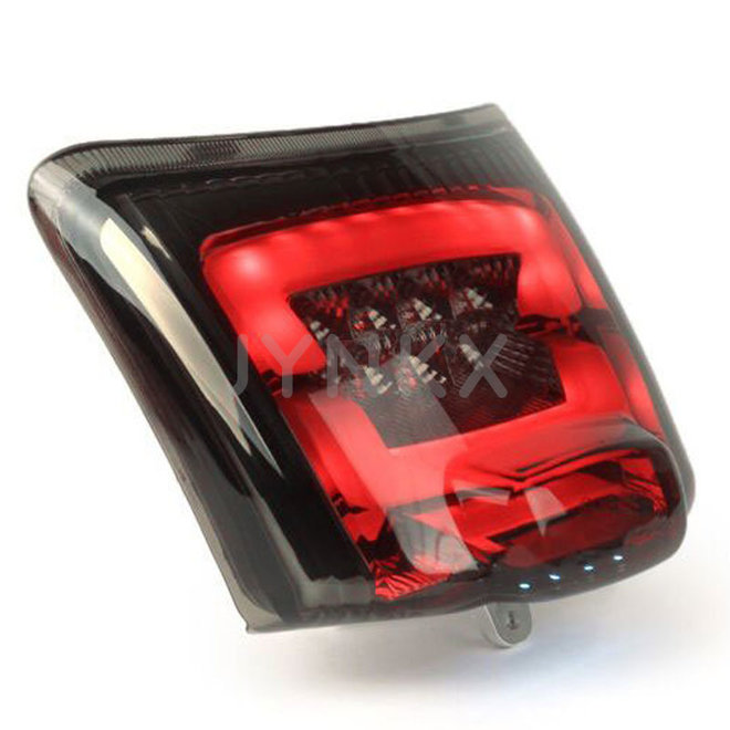 Achterlicht Vespa GTS LED tube smoke -2014'
