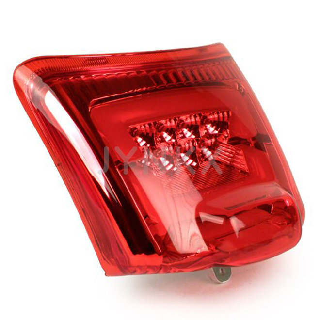 Achterlicht Vespa GTS LED tube rood -2014'