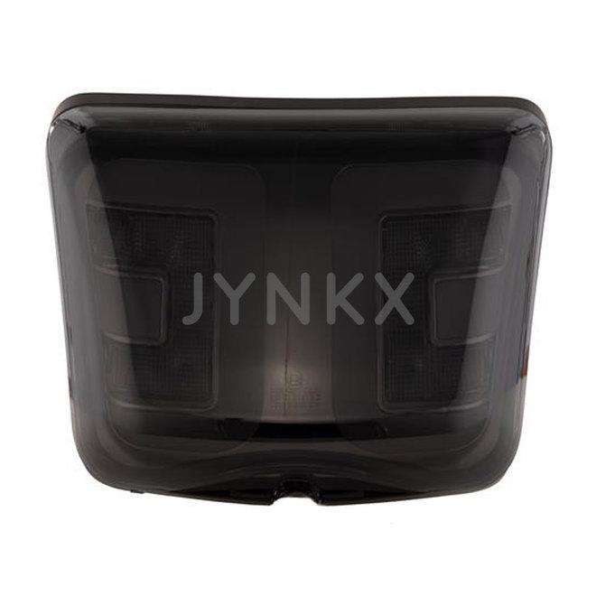 Achterlicht Vespa GTS LED tube Power1 '2014- (mat zwart frame)