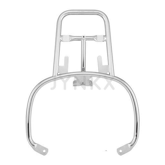 Achterdrager / bagagedrager plat Vespa GTS chroom (FA Italia)