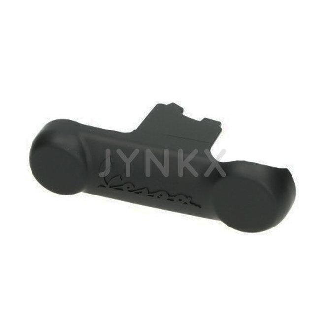 Beschermkap voorvork Vespa GTS mat zwart (recht model)