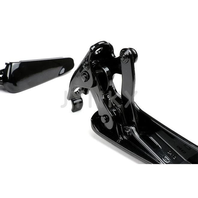 Duo voetsteunen Vespa GTS glans zwart