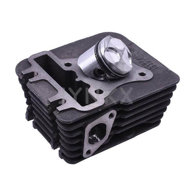 Cilinder compleet Piaggio 4T 3V origineel
