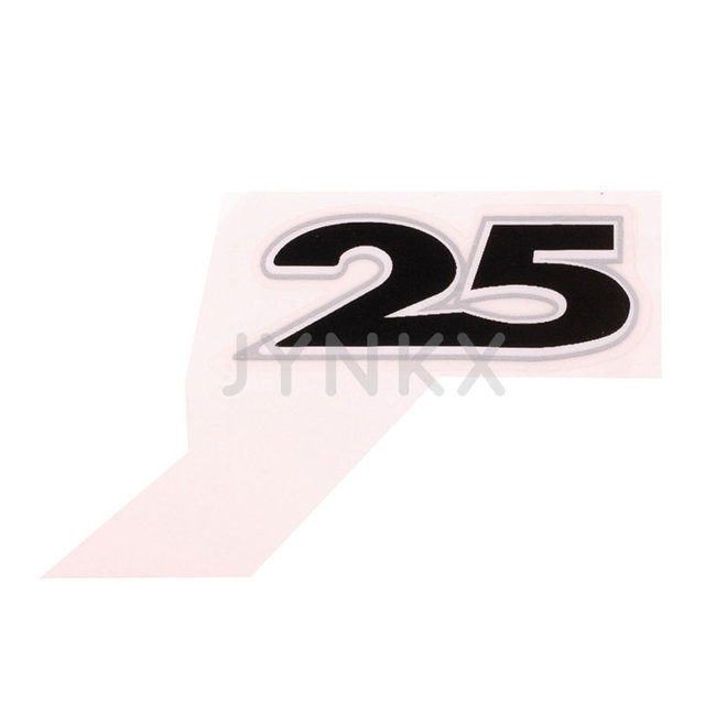 "Embleem ""25"" Piaggio / Vespa origineel"