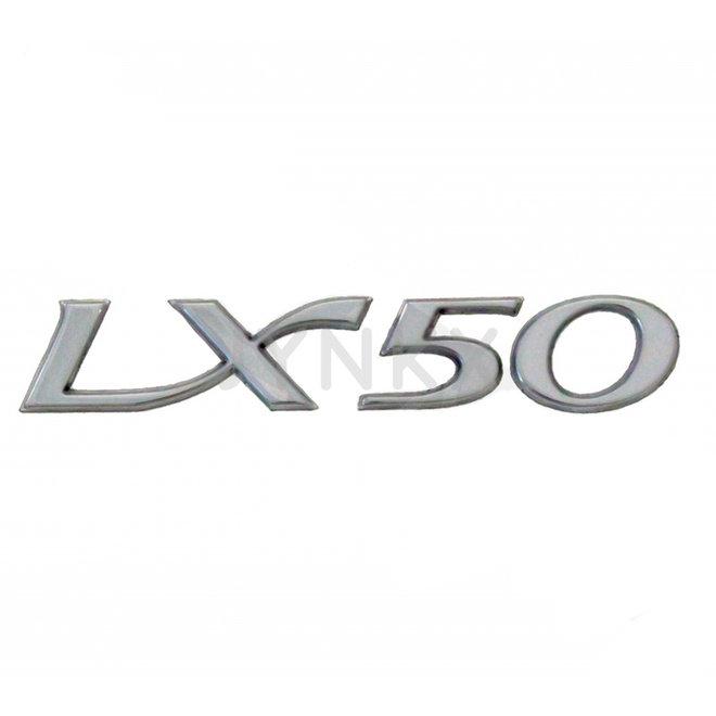 Embleem Vespa lx 50 chroom origineel