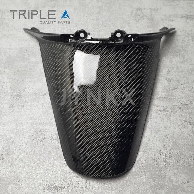 Carbon fiber achterspatbord model 2 Vespa Primavera / Sprint - Triple A