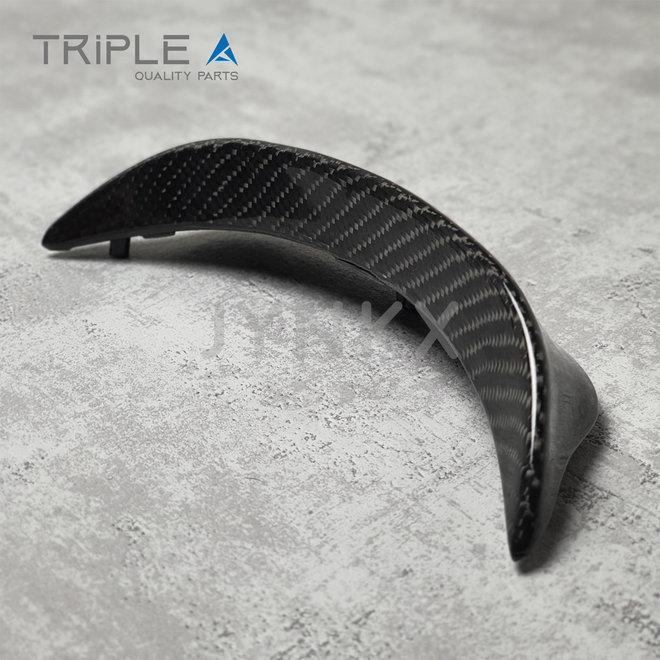 Carbon fiber spoiler cockpit Vespa Sprint - Triple A