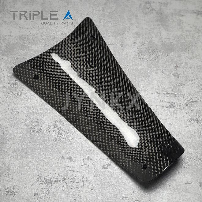 Carbon fiber accudeksel Vespa Primavera / Sprint - Triple A