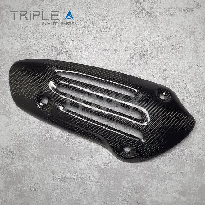 Carbon fiber hitteschild Vespa Primavera / Sprint iGET - Triple A