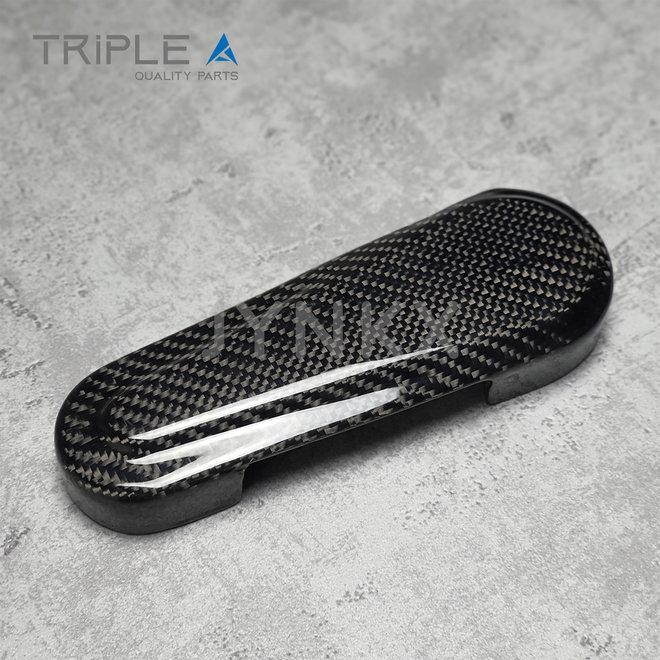 Carbon fiber beschermkap schommelarm Vespa Primavera / Sprint - Triple A