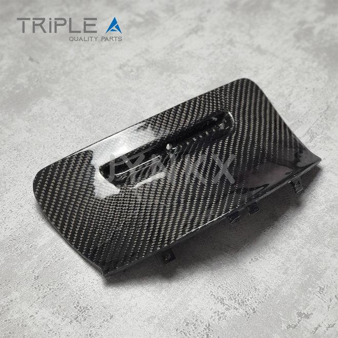 Carbon fiber bougiekap model 1 Vespa Primavera / Sprint - Triple A