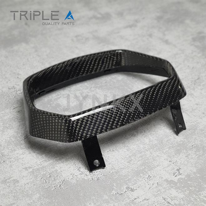 Carbon fiber koplamprand Vespa Sprint - Triple A