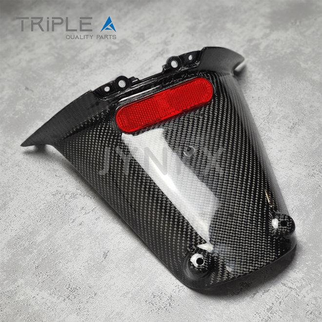 Carbon fiber achterspatbord model 1 Vespa Primavera / Sprint - Triple A