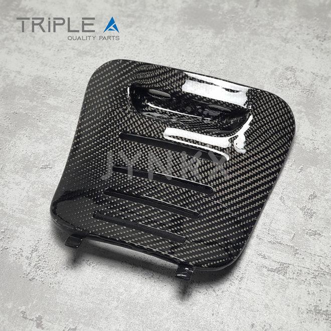 Carbon fiber accudeksel Vespa Lx / S - Triple A