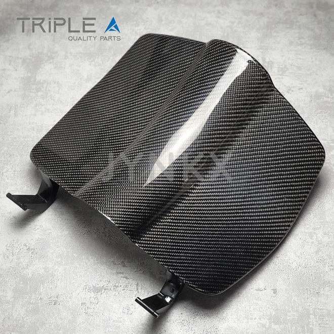 Carbon fiber deksel beenschild Vespa Primavera / Sprint - Triple A