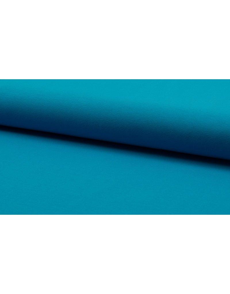 Baumwolljersey aqua, blau