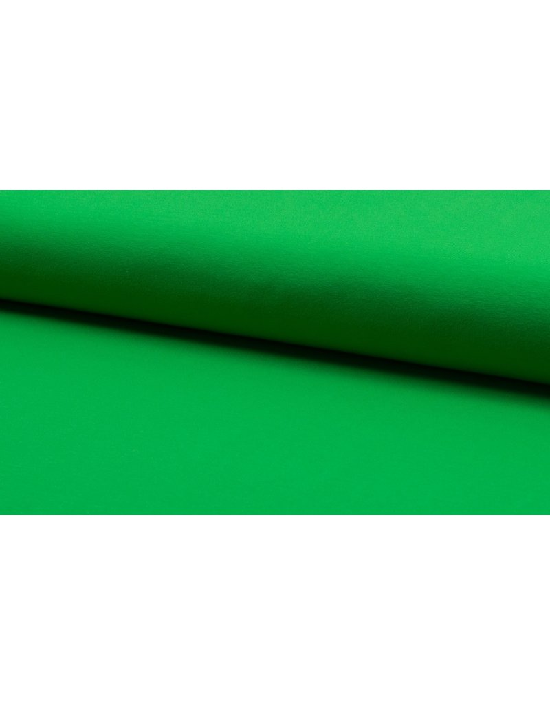 Baumwolljersey bright green