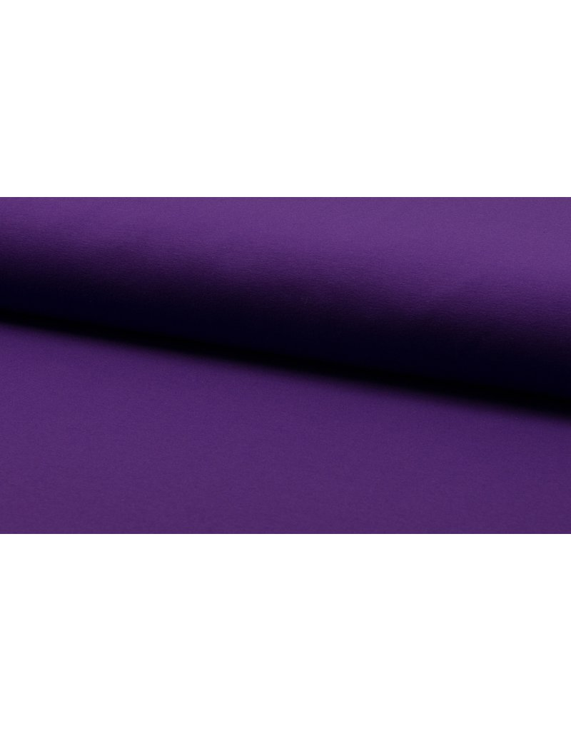 Baumwolljersey purple lila