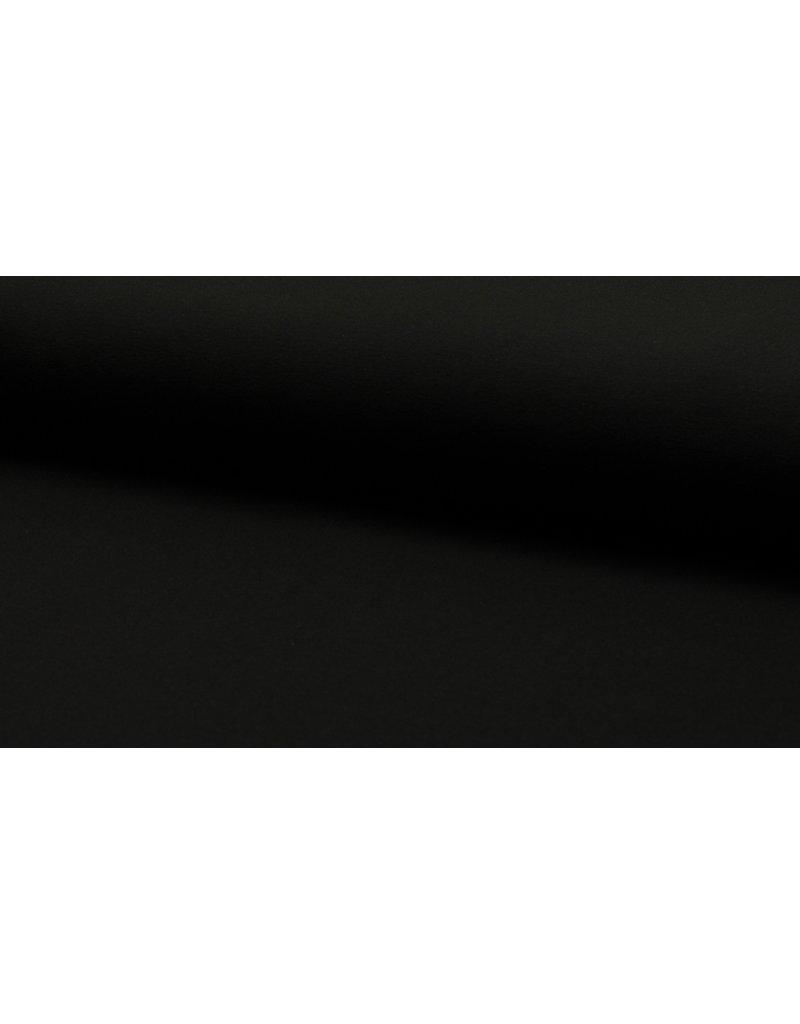Baumwolljersey black schwarz